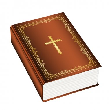 Vector illustration of the Holly Bible