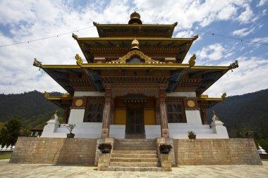 KHAMSUM YUELLEY NAMGYAL CHORTEN IN PUNAKHA - BHUTAN