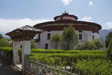 WATCHTOWER OF THE PARO RINPUN DZONG IN BHUTAN