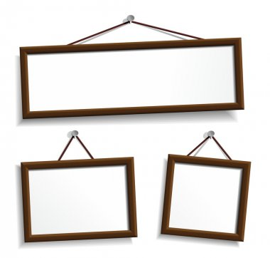 Empty frames for your presentation