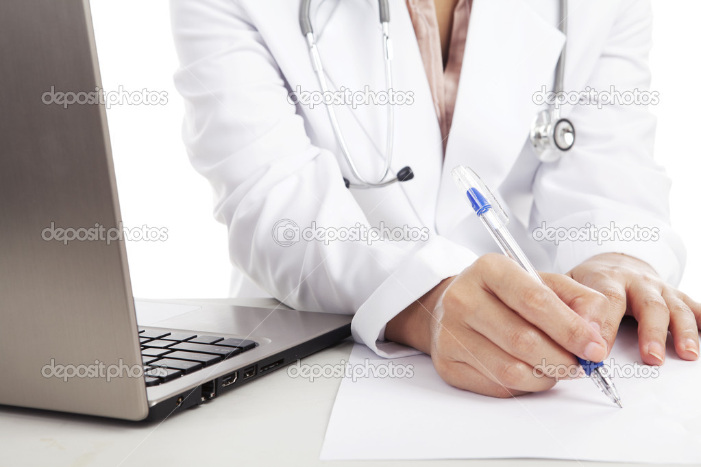 Writing a medical report