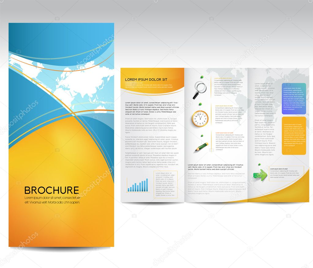 Vector Brochure Layout Design