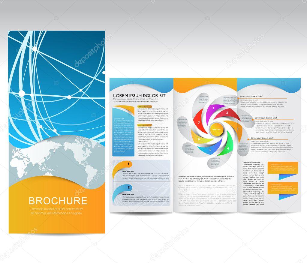 Vector brochure stock vector timea 11627041 for Promotional brochure template