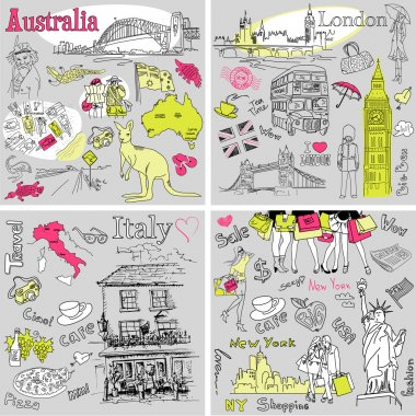 Italy, England, Australia, USA