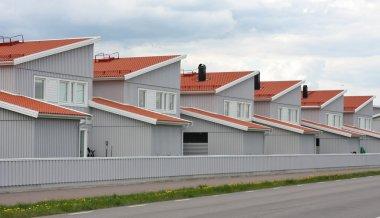 Mass Produced Row House