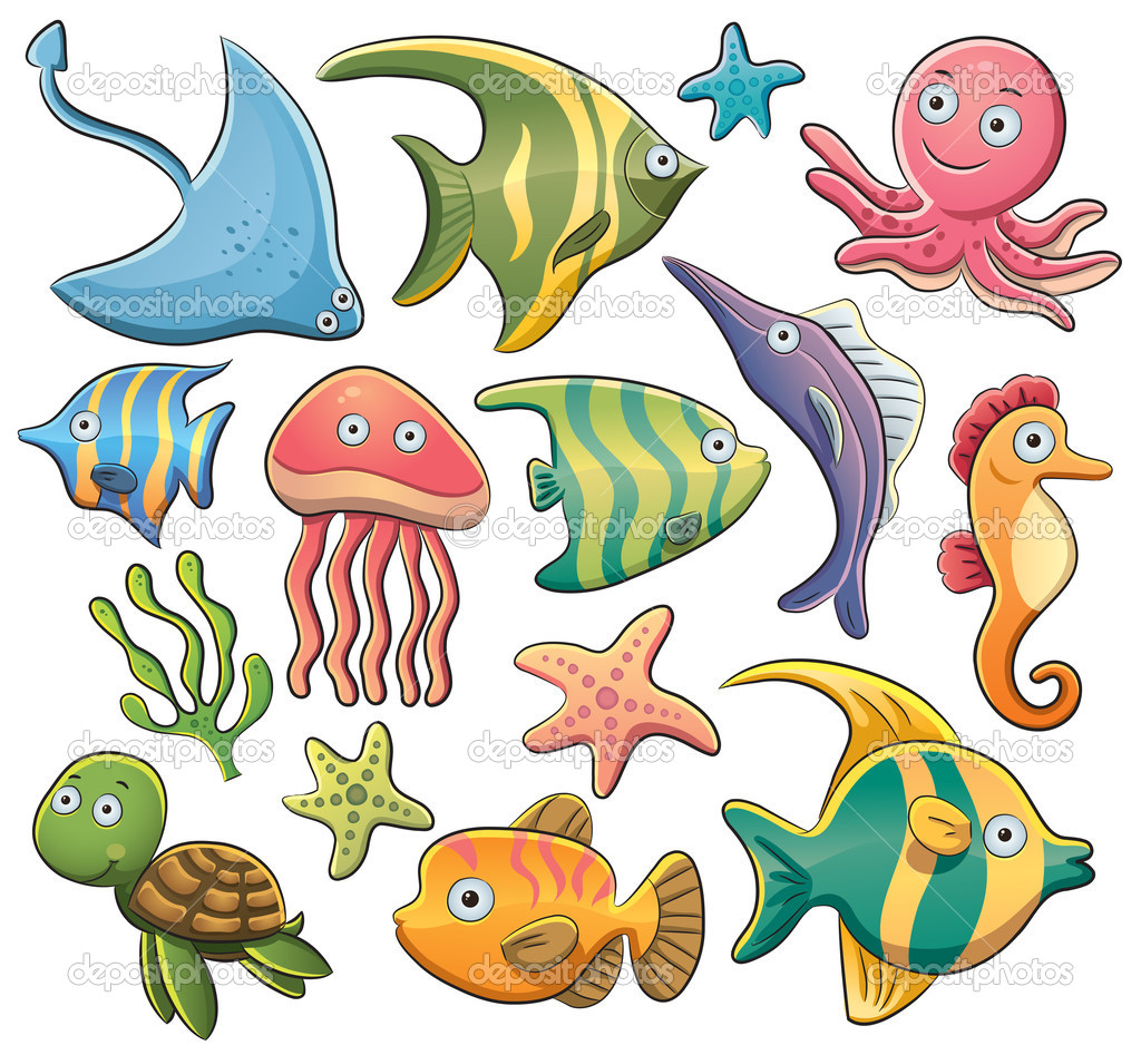 Sea Animals Collection