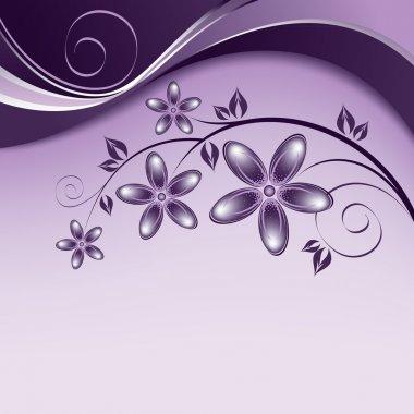 Flowers. Background. Vector Eps10 Illustration.