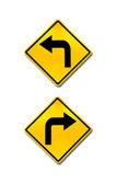 doprava a doleva, dopravní značení