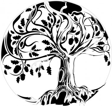 "Картина, постер, плакат, фотообои ""abstractiontree02"", артикул 10890868"