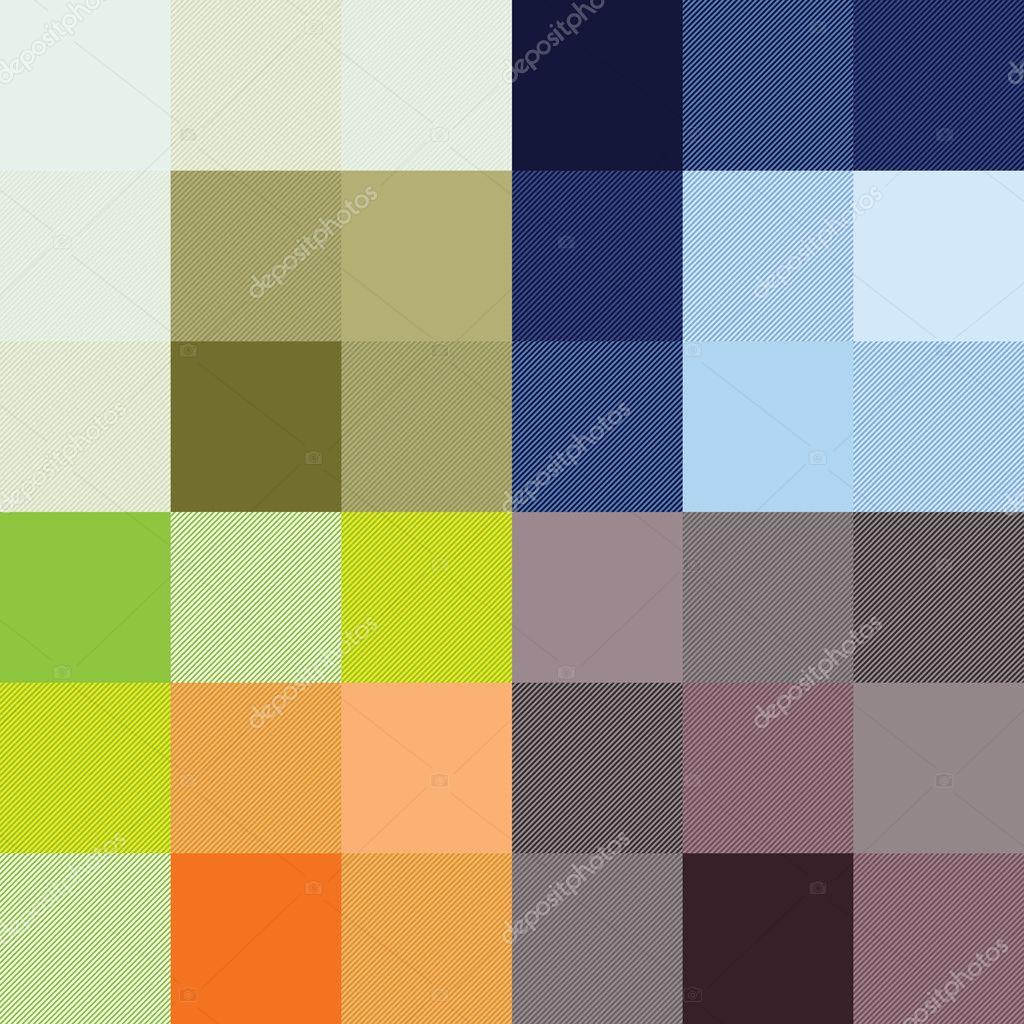 damier quatre choix de couleurs — image vectorielle lkeskinen0