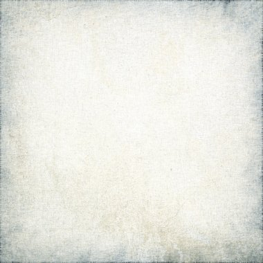 White canvas texture with delicate stripes pattern and vignette, grunge background