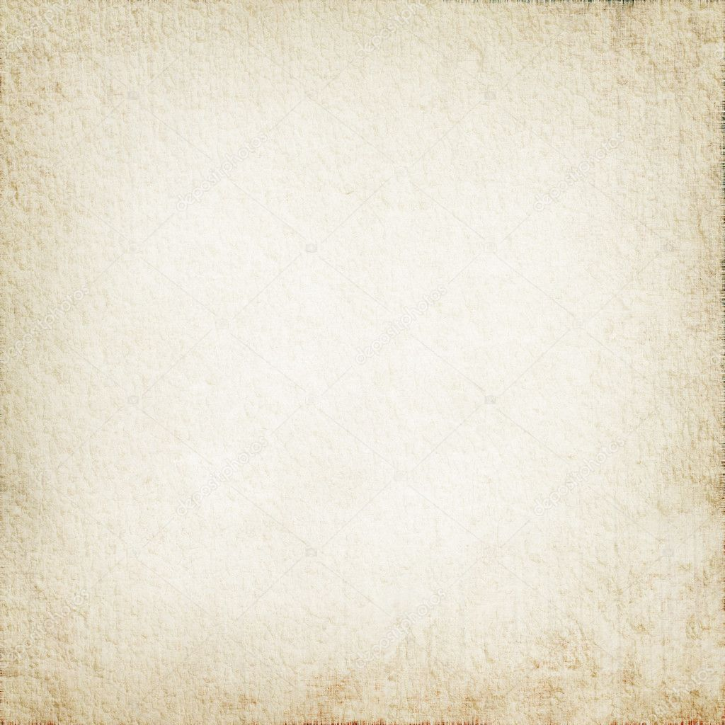 Parchment texture as white grunge background with delicate vignette