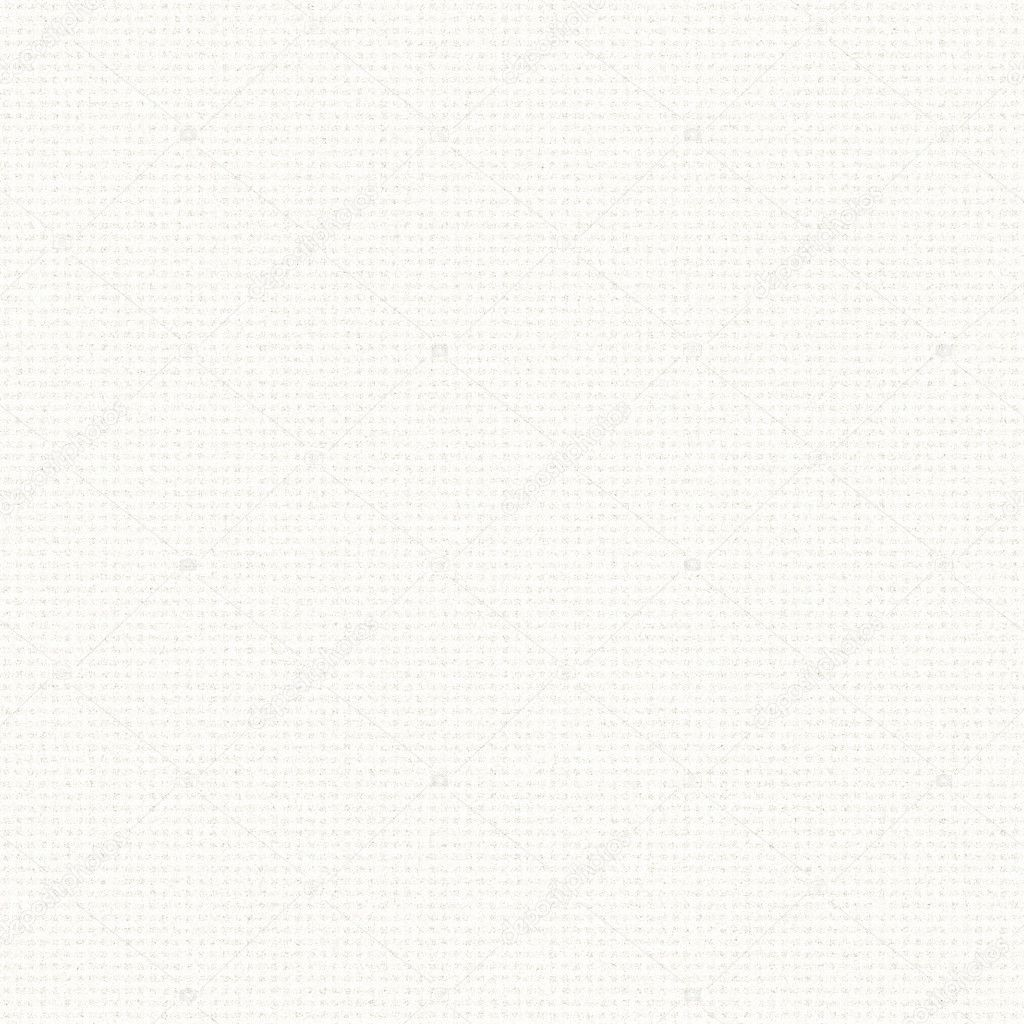 White canvas texture with delicate grid pattern seamless background
