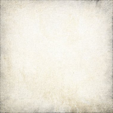Grunge background, old white linen texture