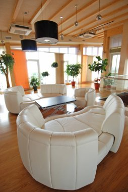 Rendering Interior fashionable living-room