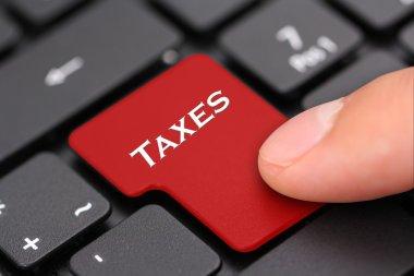 Taxes button