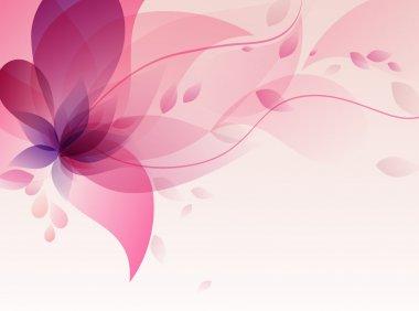 "Картина, постер, плакат, фотообои ""абстрактный фон с цветами "", артикул 11194148"