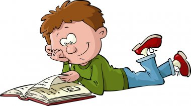 Boy with a book