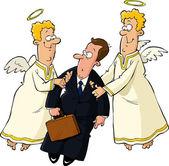 Kaufmann und Engel