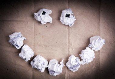 Smiley Face Paper Balls