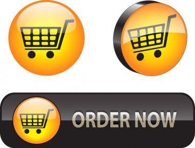 Web iconsbuttons for ecommerce