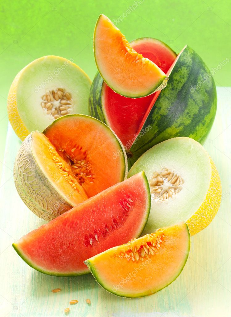 Melons and watermelon