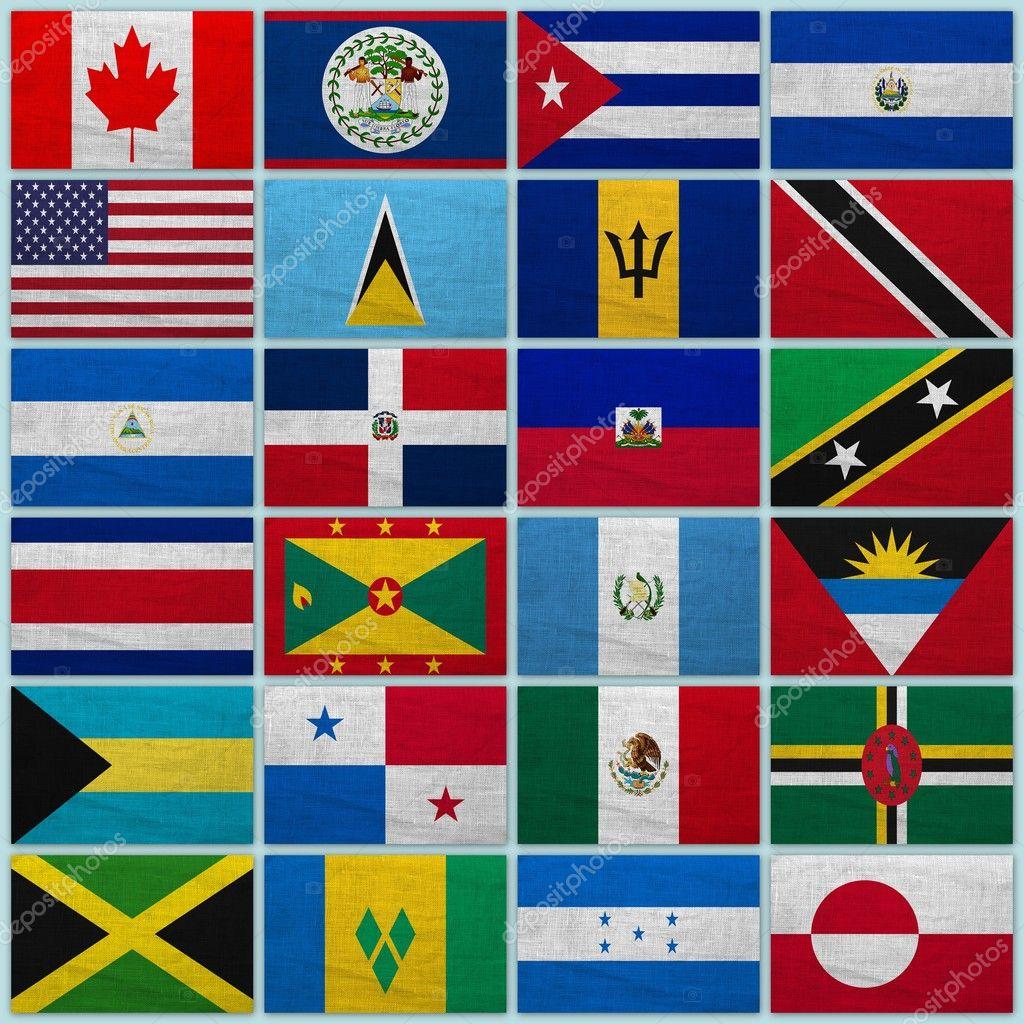 флаги стран америки фото с названием гальке собственном полотенце