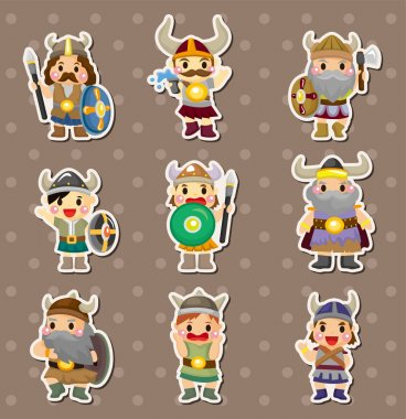 Vikings stickers