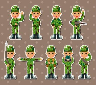 soldier stickers