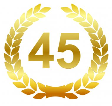 Laurel wreath - 45