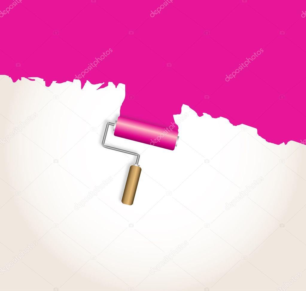 Logo design. pink
