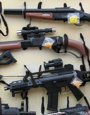 Guns toys