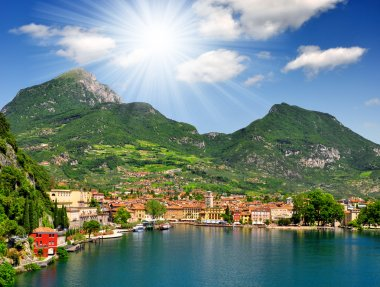 The city of Riva del Garda,Lago di Garda,Italy