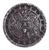 medaglione inciso con il calendario Maya