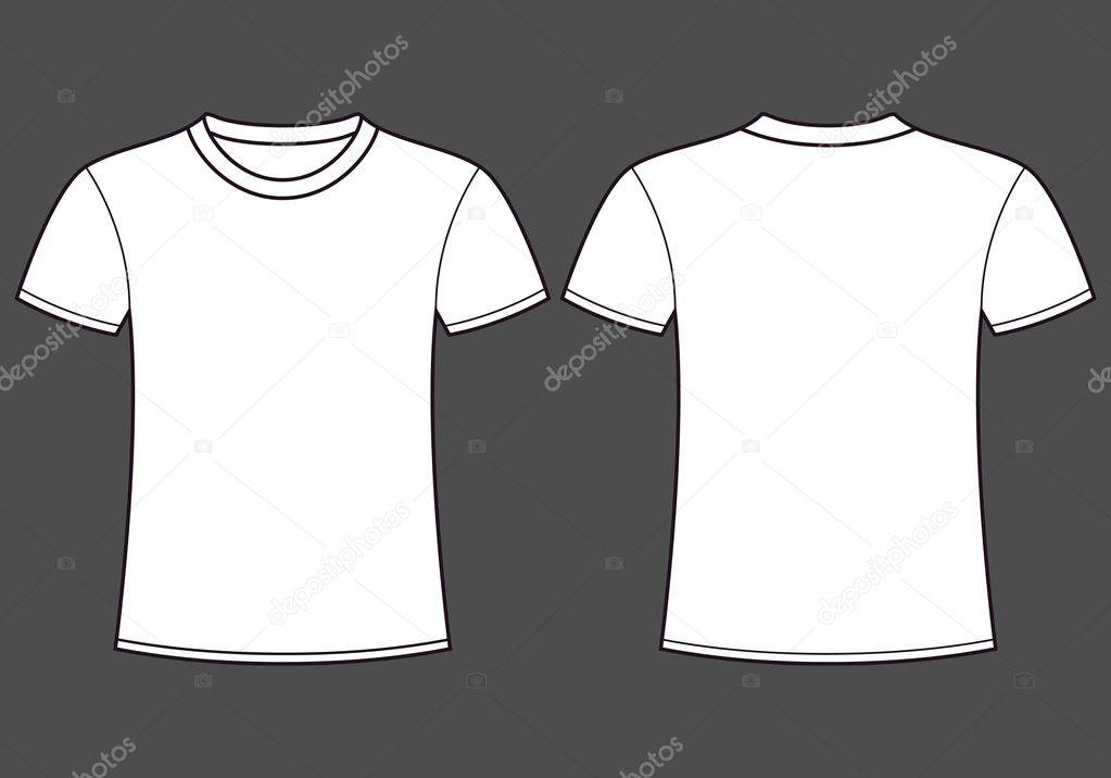 Blank T Shirt Template Stock Vector C Nikolae 11139640