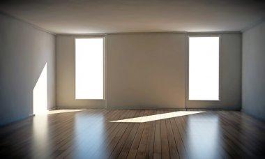 "Картина, постер, плакат, фотообои ""Empty room"", артикул 11329745"