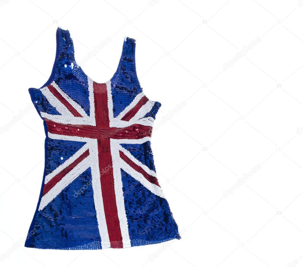 Union Jack Mini Rock N Roll Kleid Stockfoto C Paulmhill 10996444