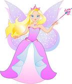 princezna je motýl