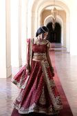 Fotografie schöne indische Braut