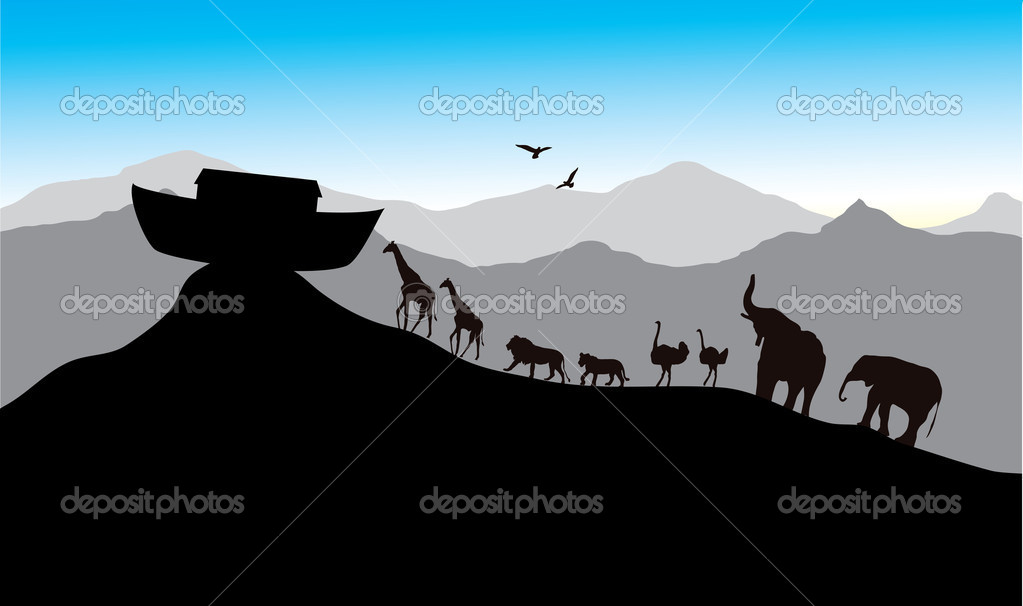 Wall decal Mural Nursery Noah's Ark Child, child, png | PNGEgg