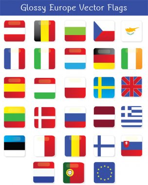 This´s a pack of vector flags of the 27 countries that are part of the European Union icon