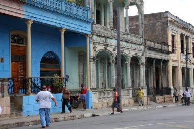 Pinar del Rio street, Cuba