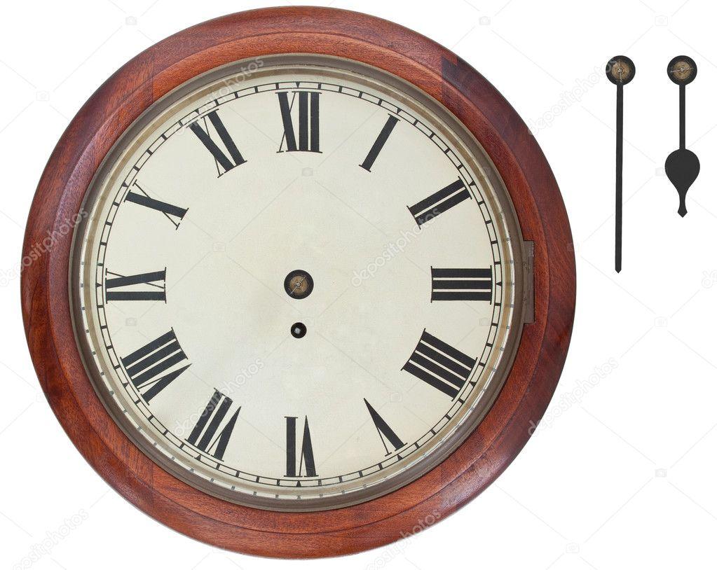 f0913eaac0f relógio de parede antigo — Fotografias de Stock © Dpullman  11420190