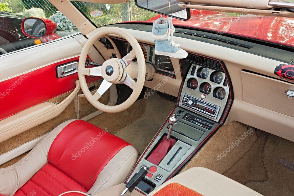 Chevrolet Corvette Interior Stock Editorial Photo Ermess 10850246