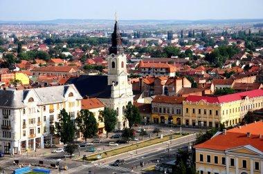 Blick over Oradea city