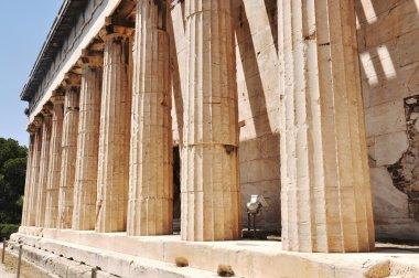 Ancient Agora - Athens Greece - Temple of Hephaistos