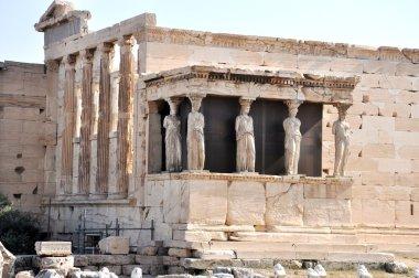Athenian Acropolis - Porch of the Maidens - Athens Greece