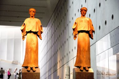 Acropolis Museum - Ancient Statues - Athens Greece