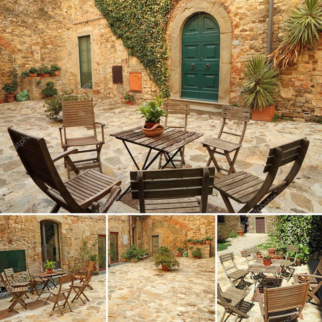 Terrazza Italiana Foto Stock Malgorzata Kistryn 11969136