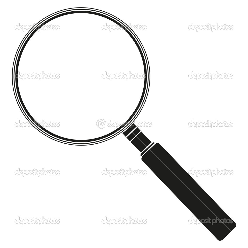 Royalty-Free (RF) Magnifying Glass Clipart Illustrations Vector Graphics 1